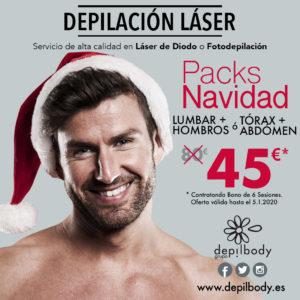 depilbody laser packs navidad 2020