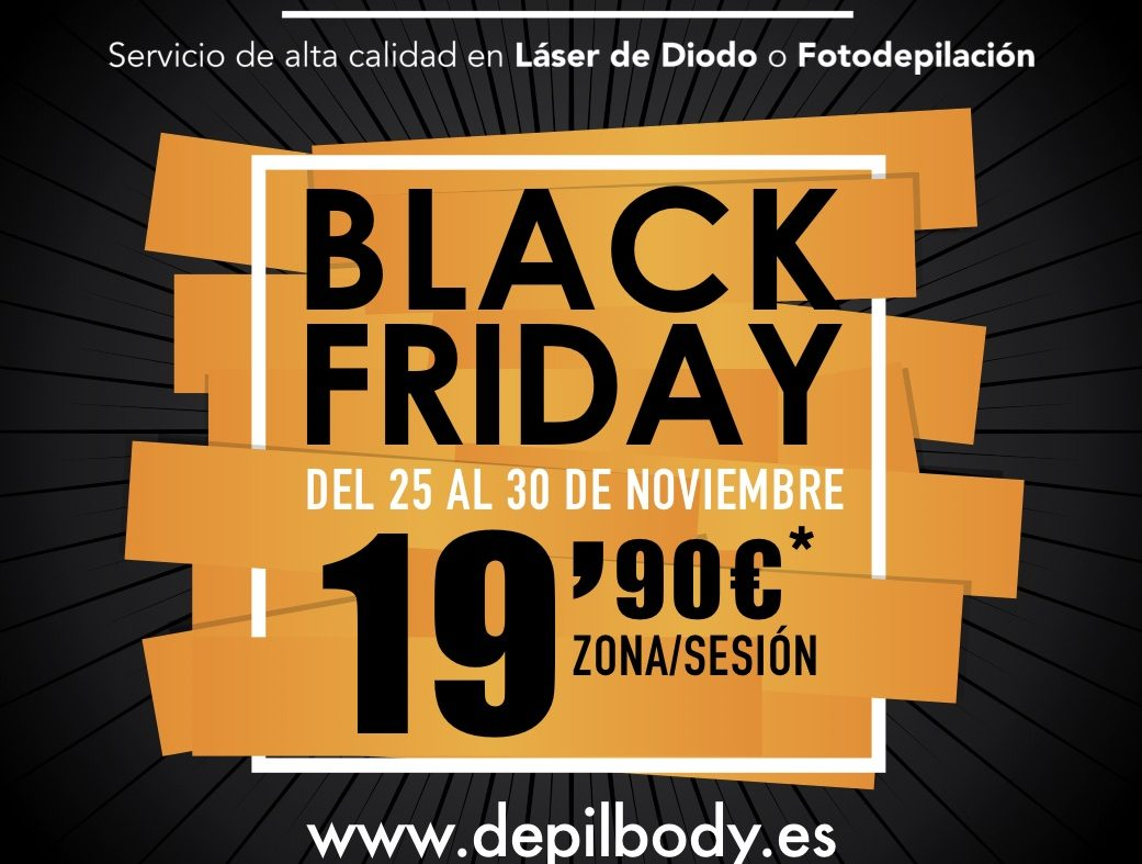BLACK FRIDAY depilbody 2019