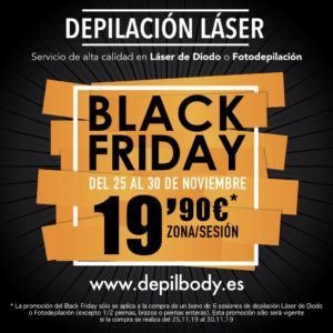 depilbody oferta black friday 2019