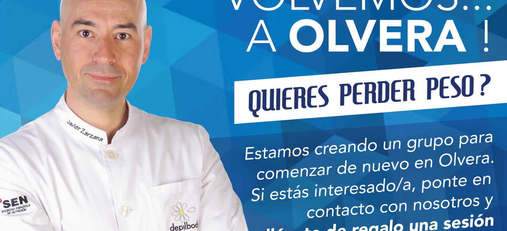 VOLVEMOS A OLVERA (Consulta de Nutrición)